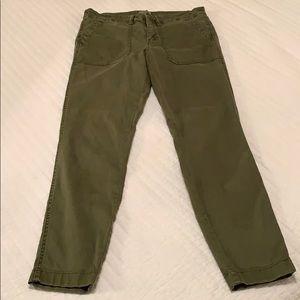 Skinny stretch cargo pants